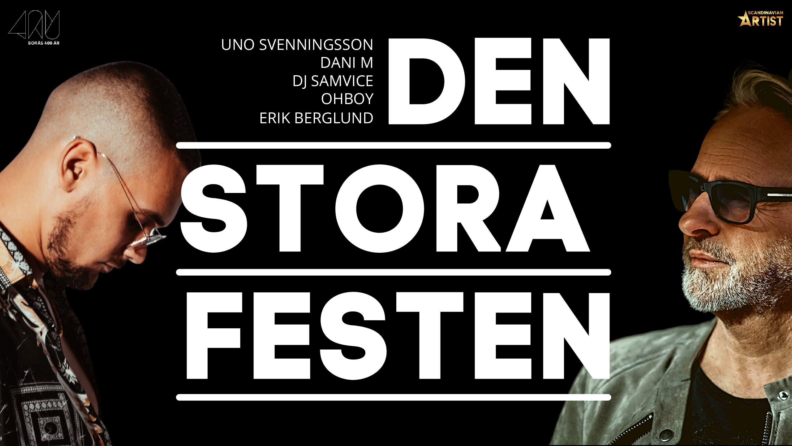 Den stora festen, Scandinavian Artist AB - Borås